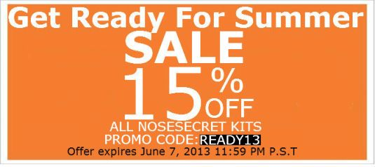 Get Ready For Summer 15% Off Sale