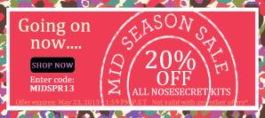 nosesecret_midseason sale