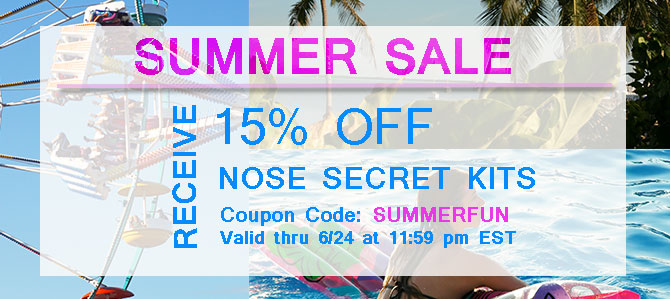 Kickstart your Summer with Nose Secret Kits!