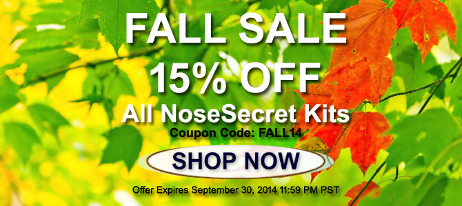 NoseSecret-Fall-Sale-2014