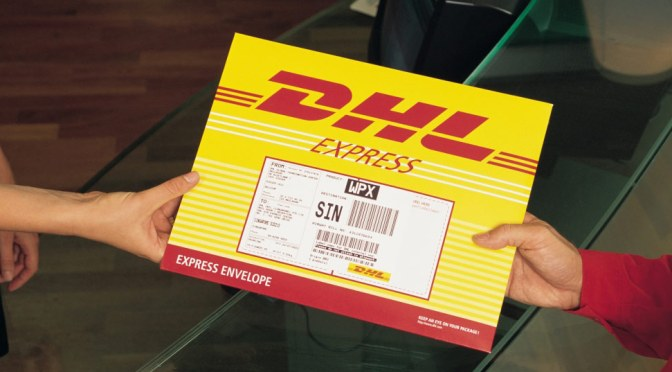 NoseSecret is  shipping via DHL again