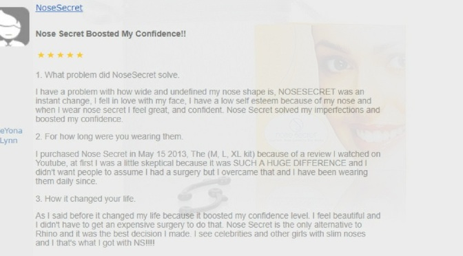 NoseSecret lovers share their reviews