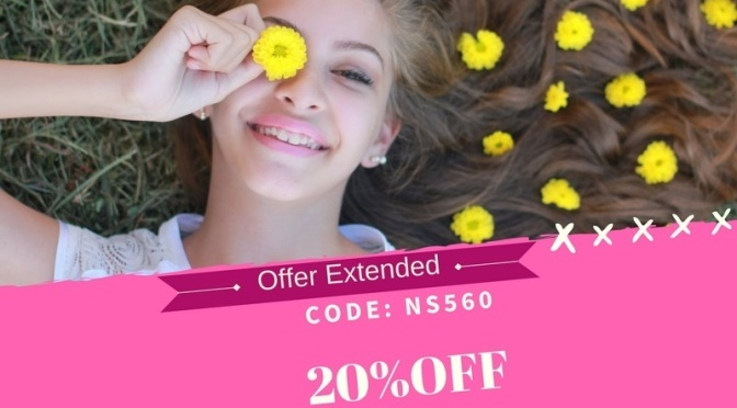 20% Off offer  Extended